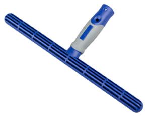 Blue 25cm Plastic T-Bar applicator for cleaning windows