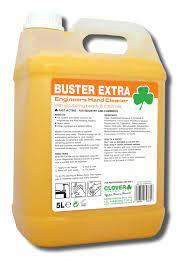 5 litre bottle of Buster Extra citrus beaded hand cleaner