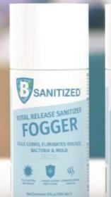150ml bottle of B Sanitised Fogger